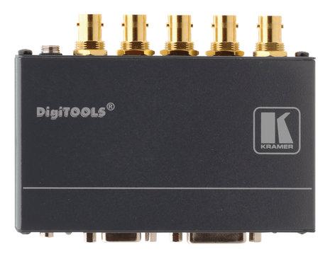 Kramer 650R DVI, Bidirectional RS-232 & IR over Coax Receiver 650R