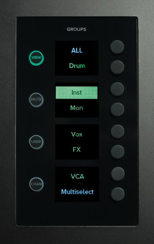 Mackie DC16 Digital Control Surface With 17 Faders, For Use With DL32R DC16
