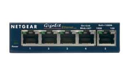 Netgear GS105 5-Port Gigabit Ethernet Desktop Switch GS105NA