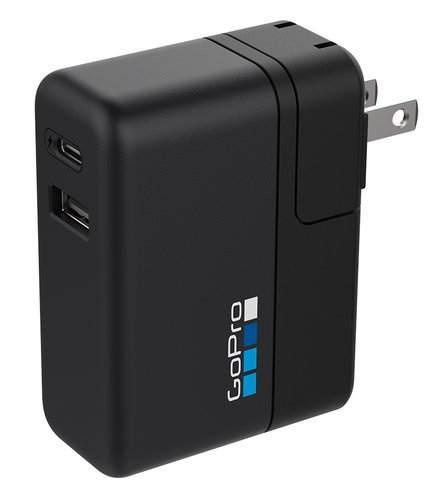 GoPro AWALC-002 Supercharger 27.5W International Dual-Port Charger for GoPro Cameras and USB Devices AWALC-002