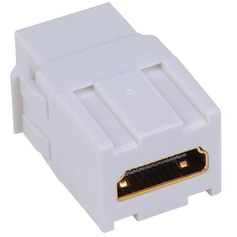 Liberty AV Solutions ISKM-HD-WH Keystone Compatible HDMI Pass Through Insert ISKM-HD-WH