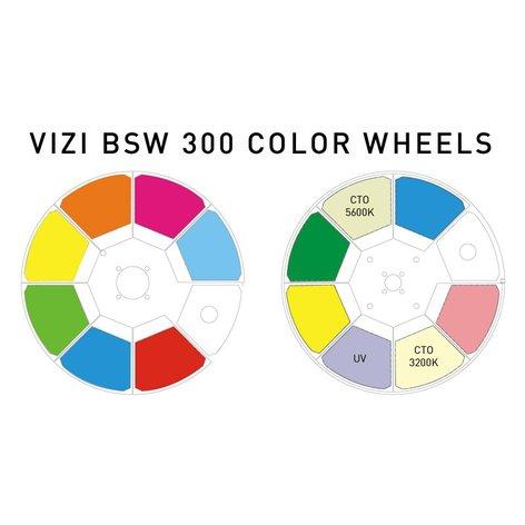 ADJ Vizi BSW 300 300W Moving Head Hybrid LED with Gobo & Color Wheels VIZI-BSW-300