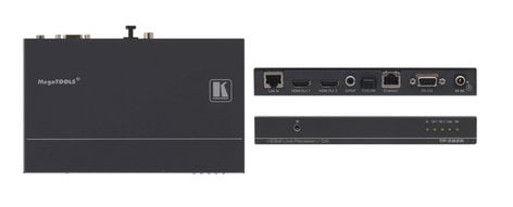 Kramer TP-582R 1:2 HDMI Plus Bidirectional RS-232, Ethernet & IR over Twisted Pair Receiver TP-582R