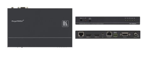Kramer TP-582T 2x1 HDMI Plus Bidirectional RS-232, Ethernet & IR over Twisted Pair Switcher/Transmitter TP-582T