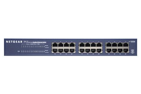 Netgear JGS524 24-Port Gigabit Rackmount Switch JGS524NA