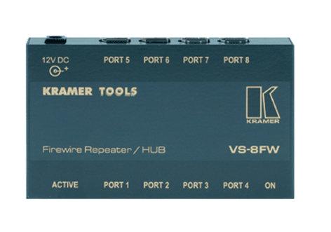 Kramer VS-8FW 8-Port FireWire Repeater/HUB VS8FW