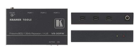Kramer VS30FW 3-Port FireWire 800 Repeater/Hub VS30FW