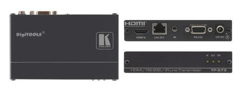 Kramer TP-573 HDMI, Bidirectional RS-232 & IR Over Twisted Pair Transmitter TP-573