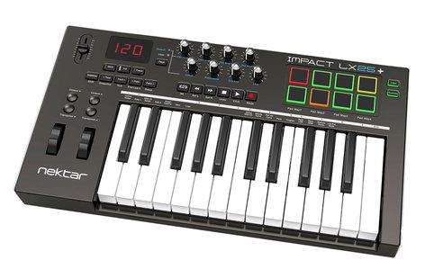 Nektar Impact LX25+ 25-Key USB MIDI Controller IMPACT-LX25+