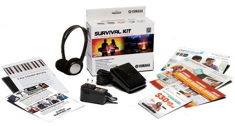 Yamaha SK B2 Survival Kit Portable Keyboard Accessories Package SKB2