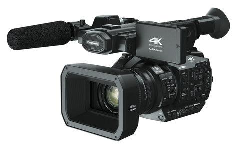 "Panasonic AG-UX90PJ 4K Camcorder with 1"" MOS Sensor and Wide-Angle 15x Optical Zoom Lens AGUX90PJ"