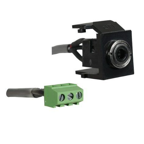 Altinex CM11305  3.5mm Stereo Snap-In Assembly for Table Top Interconnect Boxes CM11305