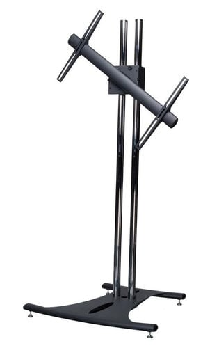 "Premier EB84-RTM  Floor Stand with 84"" Dual Poles and Rotating Mount, for Flat-Panels up to 160 lbs EB84-RTM"