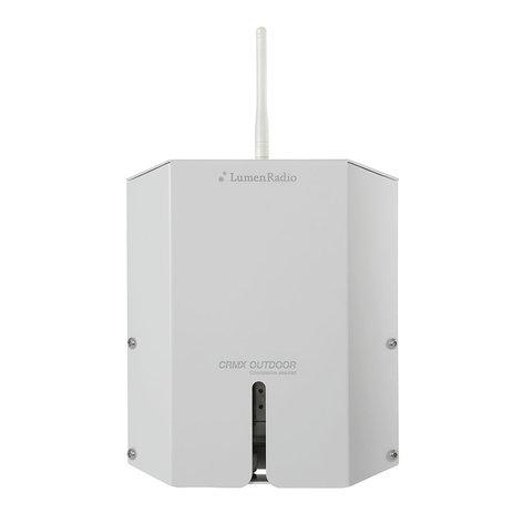 LumenRadio CRMX Outdoor Flex Single Universe IP67 DMX/RDM Transmitter, Receiver, and Repeater LRONRFX1CRMX