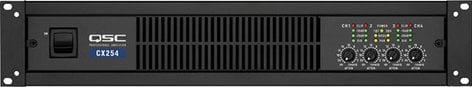 QSC CX254 4-Channel Powered Amplifier, 170W @ 8 ohms, CX-254 CX254