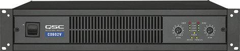 QSC CX602V 2-Channel Powered Amplifier, 400W, 70V Output CX602V