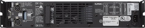 QSC CX302V 2-Channel Powered Amplifier, 200W, 70V Output CX302V