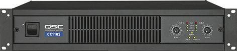 QSC CX1102 2-Channel Power Amplifier, 700W @ 8 ohms CX1102