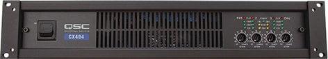 QSC CX404 4-Channel Powered Amplifier, 250W @ 8 ohms, CX-404 CX404