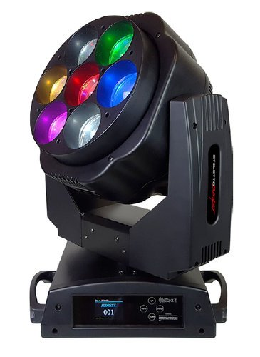 Blizzard Lighting STILETTO BEAST 7x 60W RGBW LED Moving Beam/Wash + Pixel Effects Fixture STILETTO-BEAST