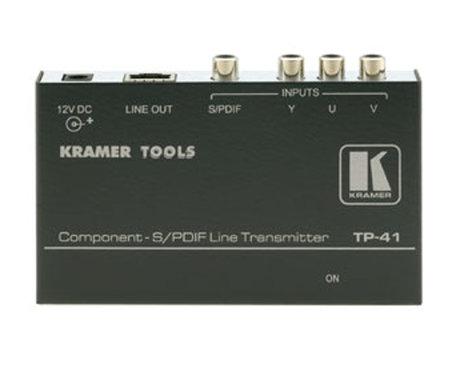 Kramer TP-41 Component S/PDIF Line Transmitter TP-41