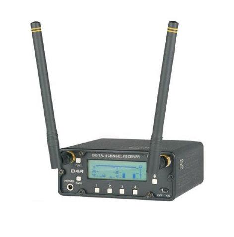 Lectrosonics D4R Digital Audio Receiver, 4 Channel D4R