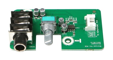 Reloop 232940  Mic PCB Assembly with Pot for Beatpad 232940