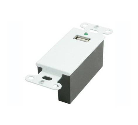 Cables To Go 29342 USB Superbooster Wall Plate Kit 29342