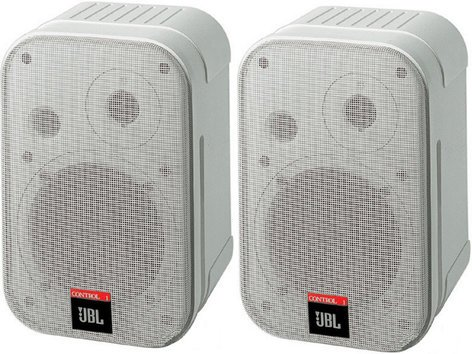 JBL Control 1 Pro 2 Way Compact Speaker in White CONTROL-1-PRO-WH
