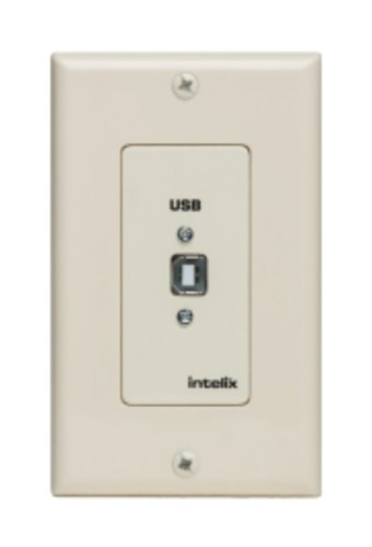 Liberty AV Solutions USB-WP-H-A Full-Speed USB Extender Wall Plate in Almond - Host Side USB-WP-H-A