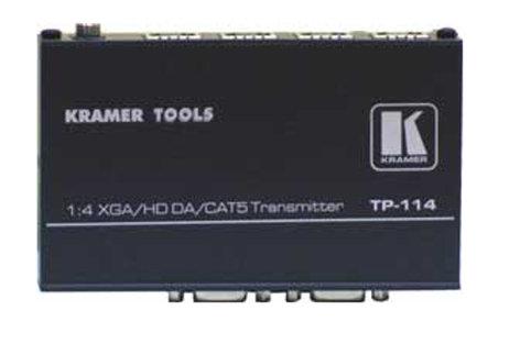 Kramer TP-114 1:4 VGA/HDTV Over Twisted Pair Transmitter TP-114
