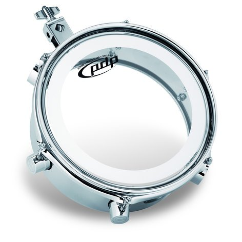 "Pacific Drums PDMT48  Mini Timbale 4x8"" Chrome PDMT48"
