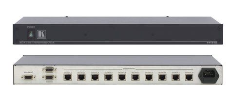 Kramer TP-210 1:10 XGA Over Twisted Pair Transmitter with Dual 15-Pin HD Outputs TP-210