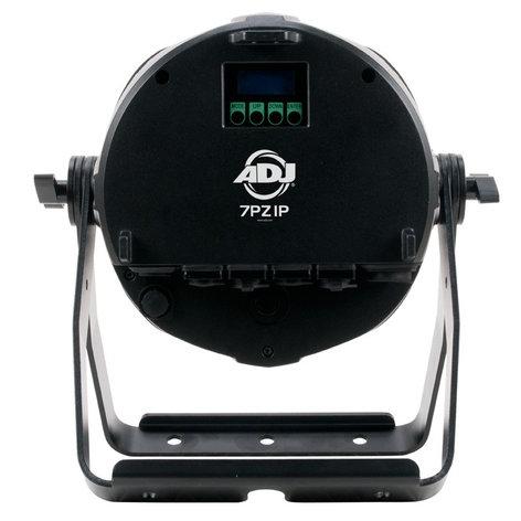 ADJ 7PZ IP 7x15W RGBW LED Outdoor PAR with Zoom, DMX, and WiFLY 7PZ-IP