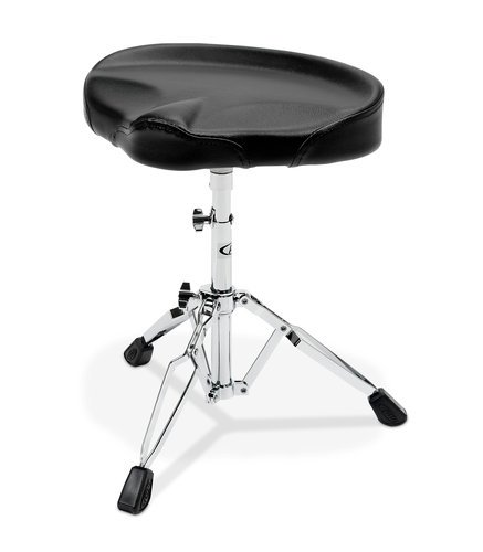 Pacific Drums PDDT720  700 Series Tractor Style Drum Throne, Black PDDT720