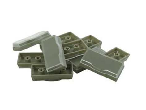 PI Engineering, Inc. XK-A-003-R 10-Pack of Wide Keycaps in Beige XK-A-003-R