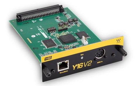 Waves WSG-Y16 V2 mini-YGDAI I/O Card for Yamaha Digital Consoles WSG-Y16-V2