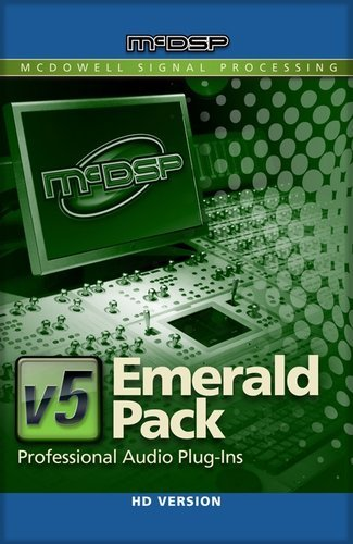McDSP Emerald Pack HD Complete Music Production Plug-in Bundle EMERALD-PACK-HD