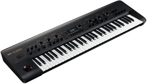 Korg KingKORG BK 61-Key Synthesizer, Black KINGKORGBK