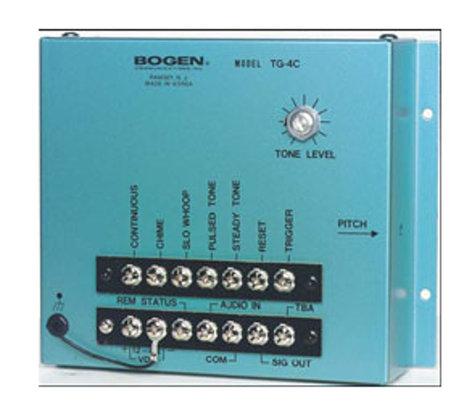 Bogen Communications TG4C Multiple Tone Generator TG4C