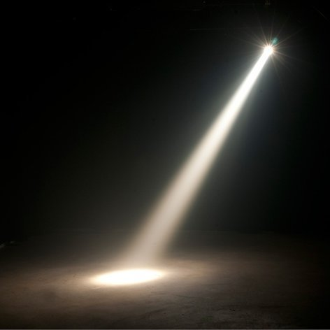 ADJ SABER SPOT WW 15W Warm White LED Powered Spot with DMX In and Out SABER-SPOT-WW