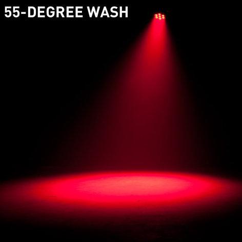 ADJ Vizi Q Wash7 7x 40W Osram RGBW LED Moving Head Wash Fixture with Motorized Zoom VIZI-Q-WASH7
