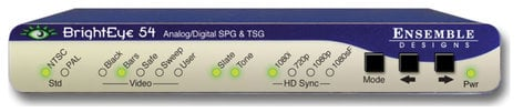 Ensemble Designs BrightEye 54 Sync Generator and Test Signal Generator with Power Supply BE-54