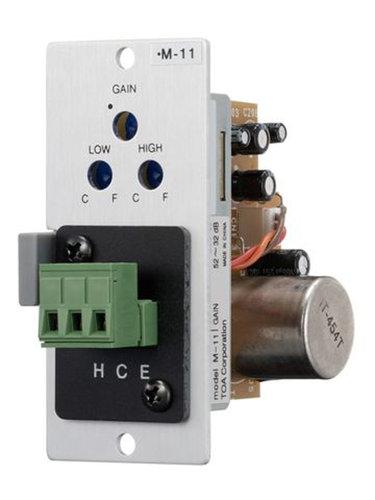 TOA M11S Microphone Input Module, Screw Terminal M11S