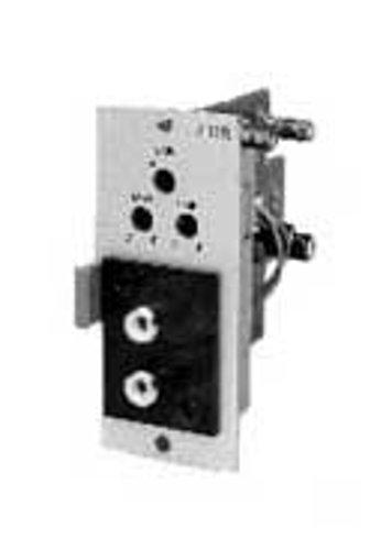 TOA U13R Stereo Input Module w/Mute Rec, with dual RCA connectors U13R