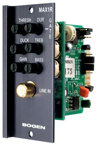 Bogen Communications MAX1R Unbalanced mono/aux Input Module, RCA MAX1R