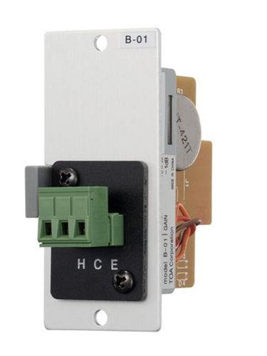 TOA B41S 900 Series Module with Screw Terminals, Blanced/Unbalanced B41S