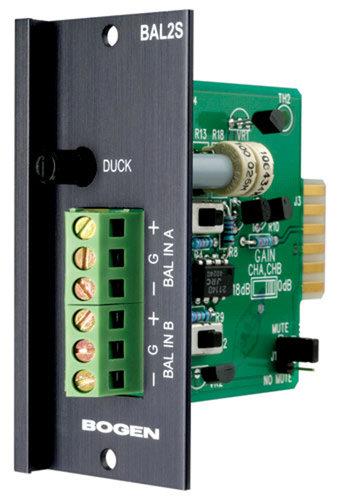Bogen Communications BAL2S Input Module Stereo Balance BAL2S