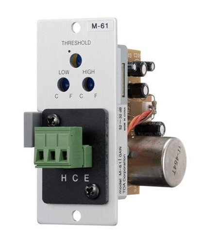 TOA M61ST M-61 Series Mic-Preamp with Compressor screw for 900 Series M61ST