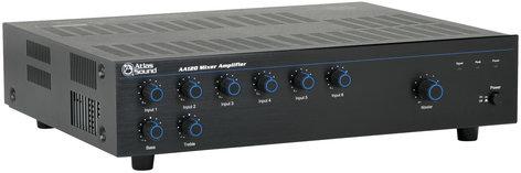 Atlas Sound AA120 6 Channel 120W Amplifier / Mixer AA120